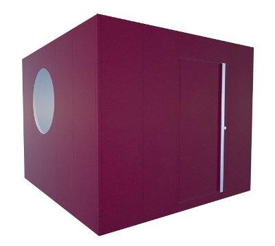 saunahaus modern square saunahaus. Black Bedroom Furniture Sets. Home Design Ideas